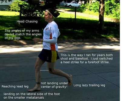 """Good Barefoot Running Form: """"Objectively"""" Unlearning Past Bad ..."""
