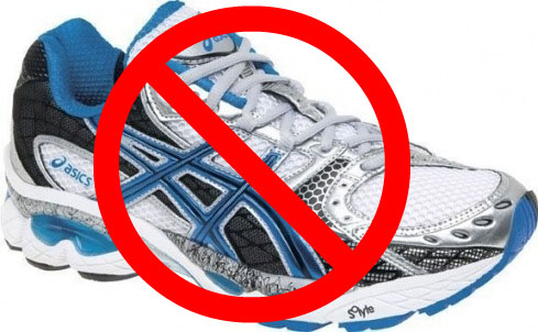 Motion-Control Running Shoes