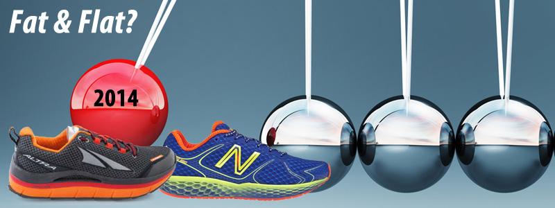 91635b7beb71 The Pendulum Swings... Fat   Flat Running Shoes
